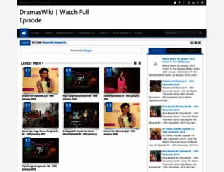 dramaswiki.blogspot.com screenshot