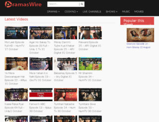 dramaswire.com screenshot