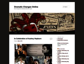 dramaticchangesonline.com screenshot