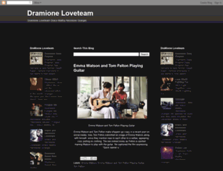 dramioneloveteam.blogspot.com screenshot
