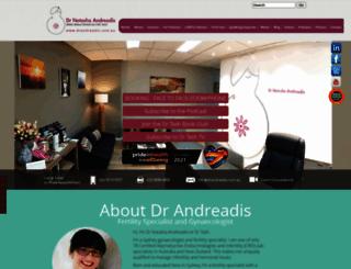 drandreadis.com.au screenshot