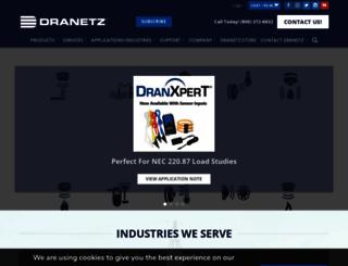 dranetz.com screenshot