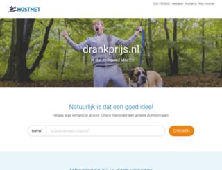 drankprijs.nl screenshot