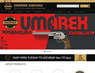 drapers-airguns.co.uk screenshot