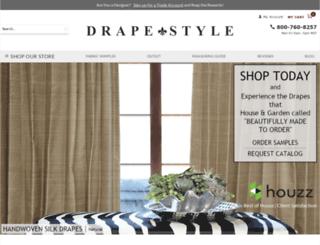 drapestyle.com screenshot