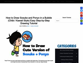 drawinghowtodraw.com screenshot