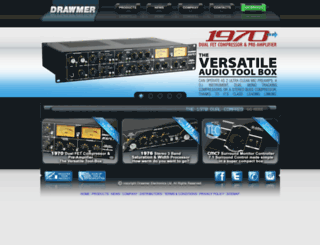 drawmer.com screenshot