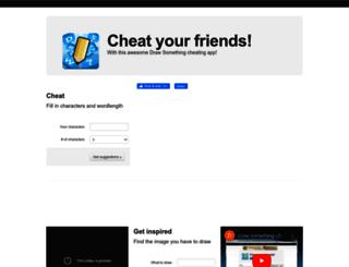 drawsomething-cheater.com screenshot