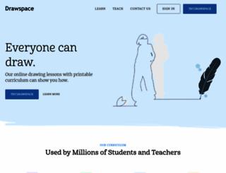 drawspace.com screenshot