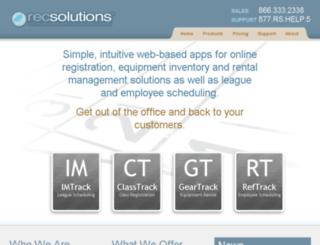 draysoncenter.recsolutions.com screenshot
