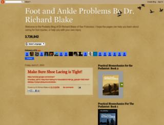 drblakeshealingsole.com screenshot
