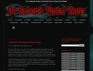drbloodsvideovault.com screenshot