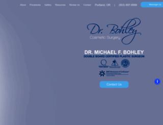 drbohley.com screenshot