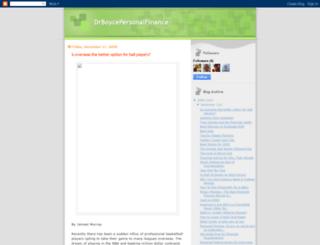 drboycepersonalfinance.blogspot.com screenshot