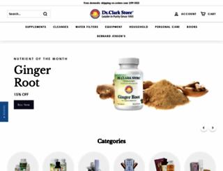 drclarkstore.com screenshot