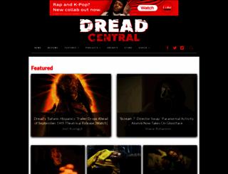 dreadcentral.com screenshot