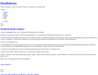 dreadlocks.org screenshot