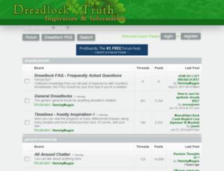 dreadlocktruth.com screenshot