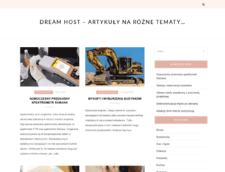dream-host.pl screenshot