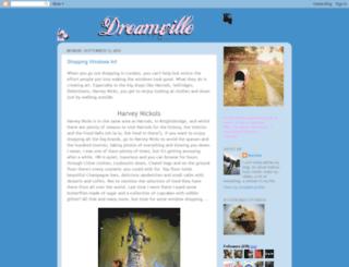 dream-of-dreamville.blogspot.com screenshot