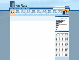 dream-stats.com screenshot