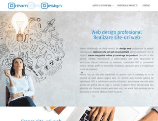 dream-webdesign.ro screenshot