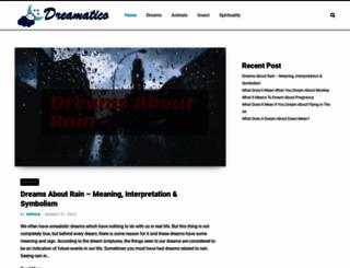 dreamatico.com screenshot