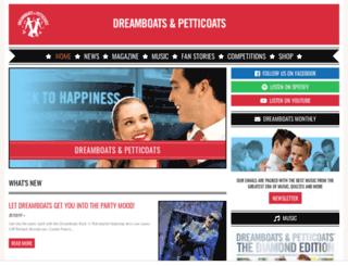 dreamboatsandpetticoats.com screenshot