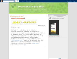 dreambox-gemini.blogspot.com screenshot
