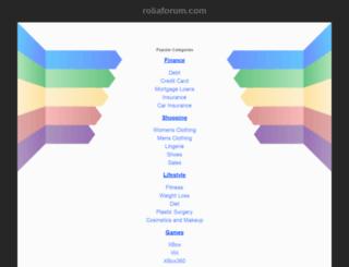 dreambox.roliaforum.com screenshot