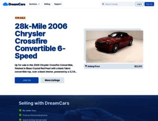 dreamcars.com screenshot