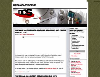dreamcast-scene.com screenshot
