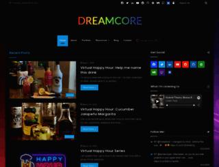 dreamcore.net screenshot
