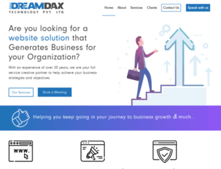 dreamdax.com screenshot