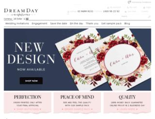 dreamday.com.au screenshot