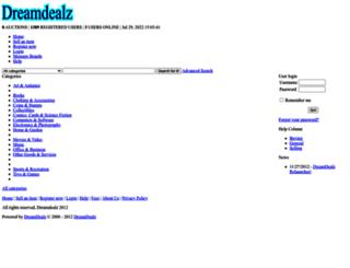 dreamdealz.com screenshot