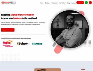 dreameffectsmedia.com screenshot