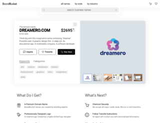 dreamero.com screenshot