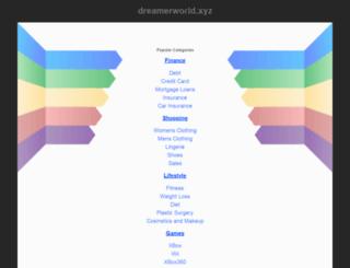 dreamerworld.xyz screenshot