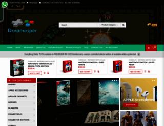 dreamesper.com screenshot