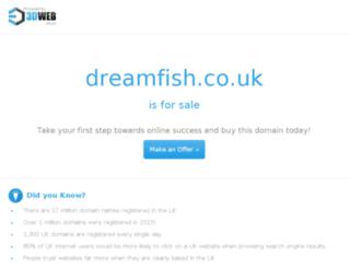dreamfish.co.uk screenshot
