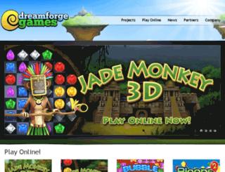 dreamforgegames.com screenshot