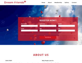 dreamfriends.in screenshot