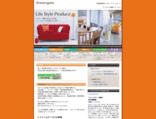 dreamgate.co.jp screenshot