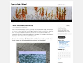 dreamgolive.wordpress.com screenshot