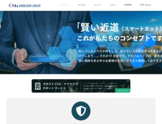 dreamhive.co.jp screenshot