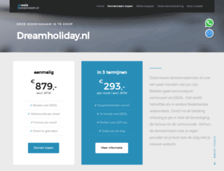 dreamholiday.nl screenshot