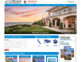 dreamhomes.us screenshot