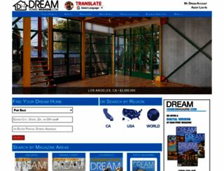 dreamhomesmagazine.com screenshot