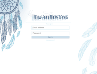 dreamhosting.org screenshot